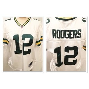 Aaron Rodgers NFL Jersey Medium Green Bay Packers